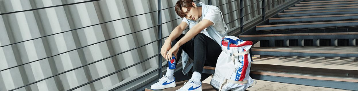 Tags: K-Pop, Got7, Jackson, Sitting On Stairs, Serious, Short Sleeves, Sitting, Stairs, Black Pants, Pants, Pepsi, Wallpaper