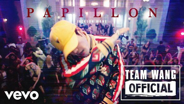Tags: K-Pop, Got7, Papillon, Jackson, Text: Artist Name, Group, Hat, Text: Song Title