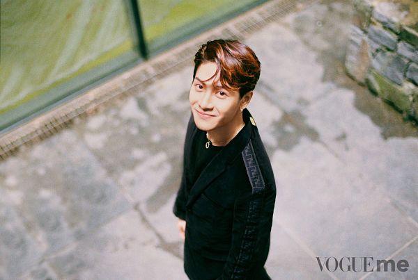Tags: K-Pop, Got7, Jackson, Necklace, Looking Up, Fendi, Magazine Scan, VOGUEme