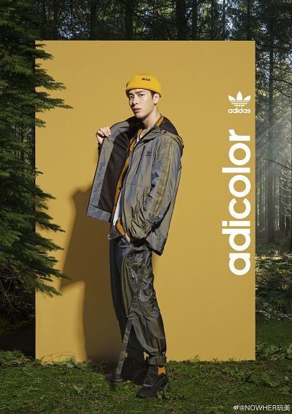 Tags: K-Pop, Got7, Jackson, Necklace, Plant, Sneakers, Hat, Hood, Hoodie, Jumpsuit, Tree, Shoes