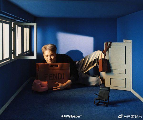 Tags: K-Pop, Got7, Jackson, Door, Wink, Bracelet, Armchair, Bag, Chair, Window, Wallpaper*, Magazine Scan