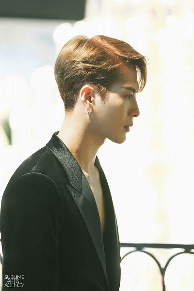 Tags: K-Pop, Got7, Jackson, Side View, Suit, Black Jacket
