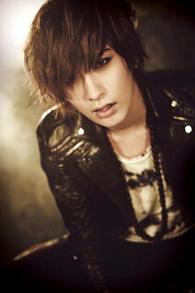 Tags: K-Pop, Block B, Jaehyo, Necklace, Leather Jacket, Blunt Bangs, Covering Eyes, Android/iPhone Wallpaper