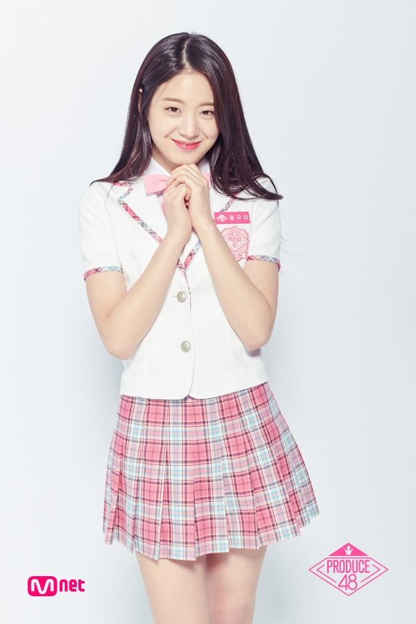 Tags: K-Pop, Television Show, Jang Gyuri, School Uniform, Uniform, Produce 48, Mnet