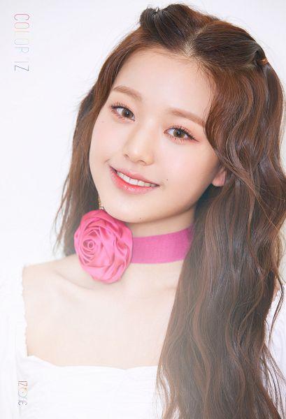 Tags: K-Pop, IZ*ONE, Jang Wonyoung, Flower, Contact Lenses, Choker, Pink Flower