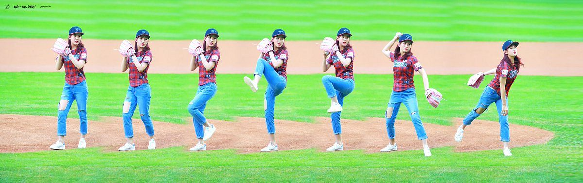 Tags: JYP Entertainment, K-Pop, I.O.I, Jeon Somi, Baseball Cap, Hat, Baseball Glove, Ball, Baseball Ball, Baseball