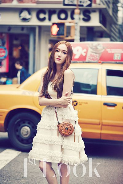Tags: SM Town, K-Pop, Girls' Generation, Jessica Jung, Car, Magazine Scan, 1st Look