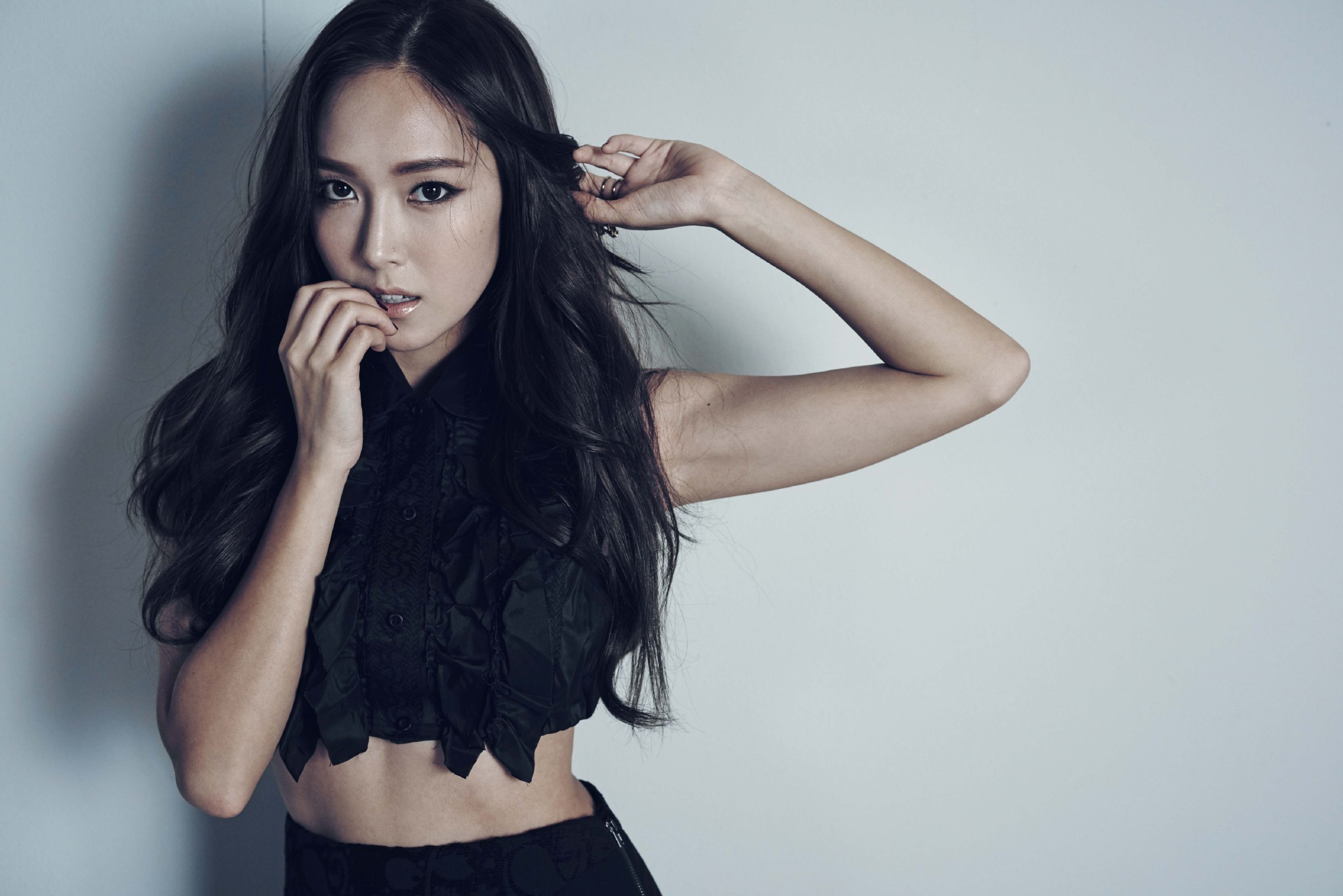 Jessica Snsd Black Hair Jessica Jung Wallpaper...