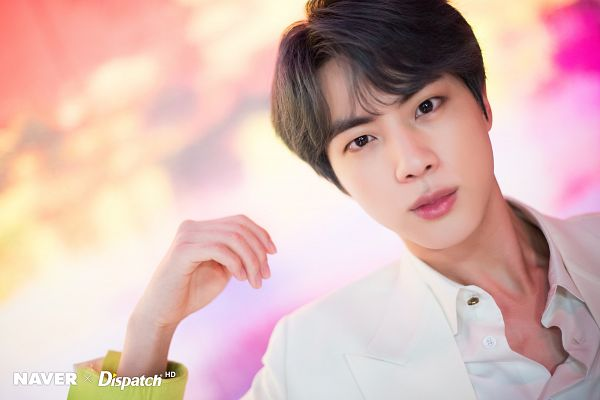 Tags: K-Pop, BTS, Boy With Luv, Jin, English Text, Dispatch, Map of the Soul: Persona
