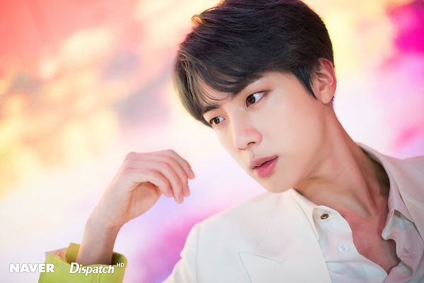 Tags: K-Pop, BTS, Boy With Luv, Jin, English Text, Map of the Soul: Persona, Dispatch