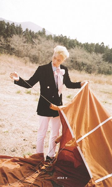 Tags: K-Pop, BTS, Jin, Outdoors, The Most Beautiful Moment in Life: Young Forever, Scan