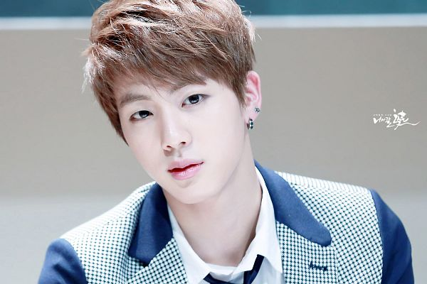 Tags: K-Pop, Bangtan Boys, Jin, Looking Ahead, Close Up, Tie, Wallpaper