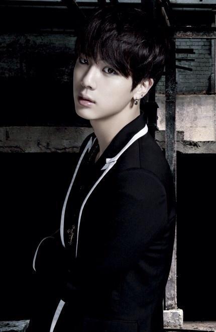 Tags: K-Pop, BTS, Danger, Jin, Black Jacket, Make Up, Eyeliner, Black Eyes, Black Outerwear, Dark & Wild