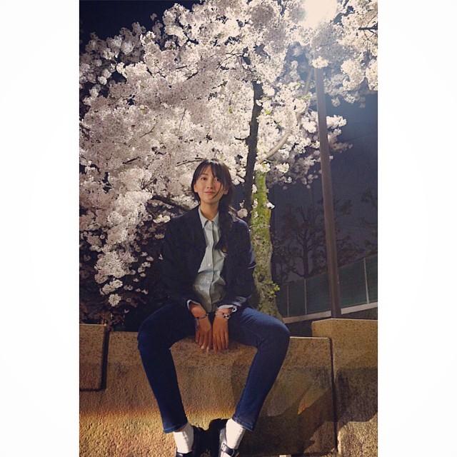 Tags: K-Pop, KARA, Jiyoung Kang, Cherry Blossom