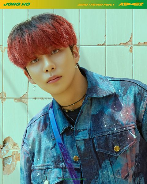 Tags: K-Pop, Ateez, Red Hair, Thanxx, Jongho