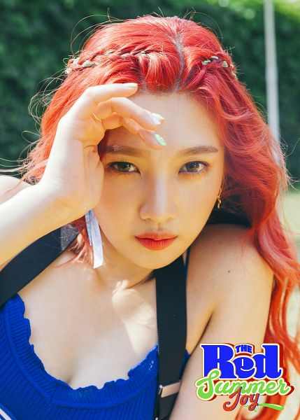 Tags: K-Pop, Red Velvet, Joy, Red Hair, The Red Summer