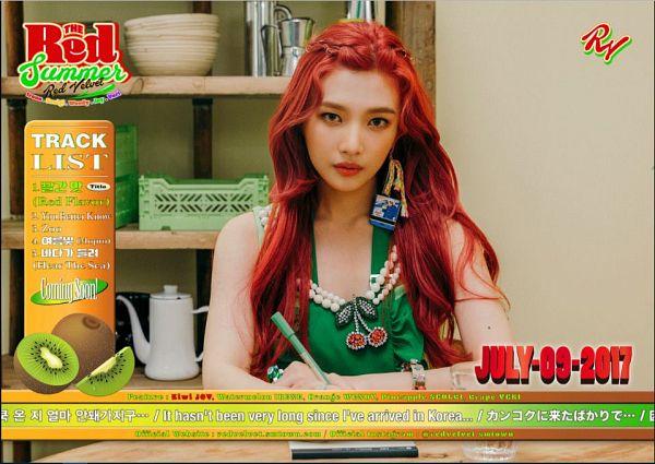 Tags: K-Pop, Red Velvet, Joy, Red Hair, The Red Summer