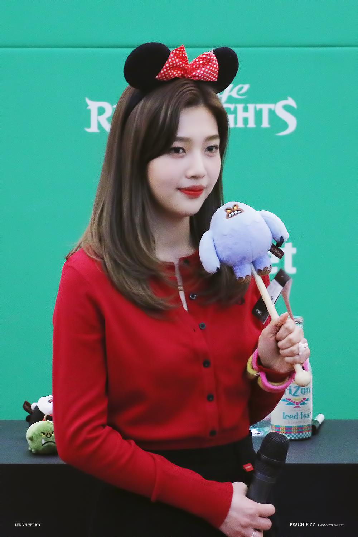 Joy Red Velvet Wallpaper