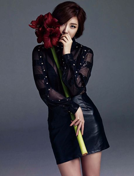 Tags: K-Pop, Secret, Jun Hyoseong, Cute, Flower, Android/iPhone Wallpaper
