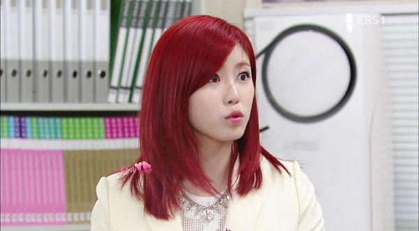 Tags: K-Pop, Secret, Jun Hyoseong, Cute, Red Hair