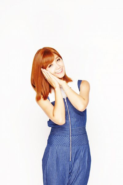 Tags: K-Pop, Apink, Jung Eun-ji, Blue Dress, White Background, Sleeveless Dress, Blue Outfit, Medium Hair, Striped Dress, Bare Shoulders, Sleeveless, Striped