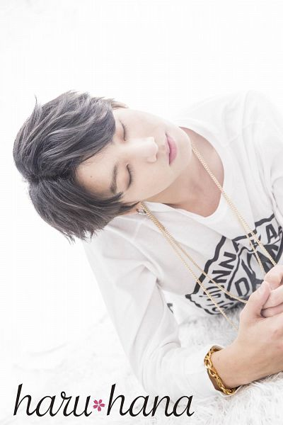 Tags: K-Pop, BTS, Jungkook, Eyes Closed, Necklace, Bracelet, Light Background, Head Tilt, White Background, Haru Hana, Magazine Scan