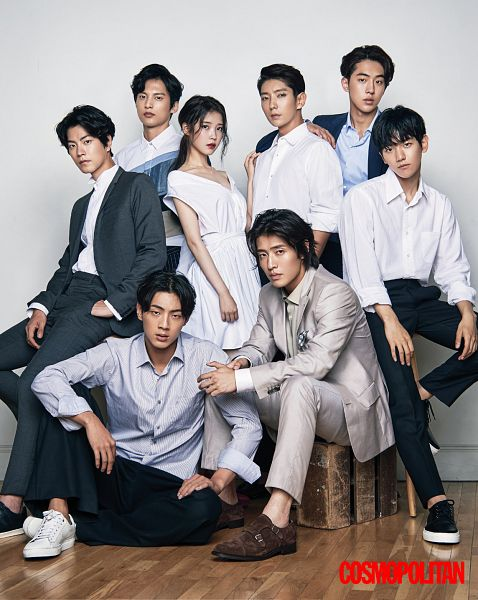 Tags: K-Pop, K-Drama, EXO, Yoon Sun-woo, Byun Baekhyun, Kang Ha-neul, Hong Jong-hyun, Nam Joo-hyuk, Ji Soo, Lee Jun-ki, IU, Blue Shirt