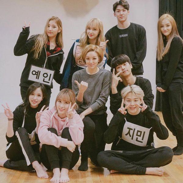 Tags: K-Pop, BTS, Cosmic Girls, Twice, Lovelyz, VIXX, Park Jimin, Myoui Mina, N (singer), Hirai Momo, Cheng Xiao, Jung Yein