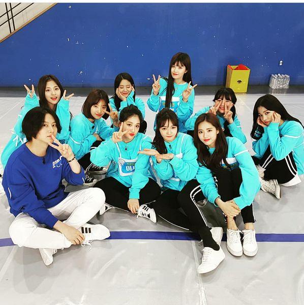 Tags: K-Pop, Super Junior, fromis 9, Kim Heechul, Jang Gyuri, Roh Jisun, Lee Chae-young, Nakyung, Song Hayoung, Saerom, Park Jiwon, Baek Jiheon