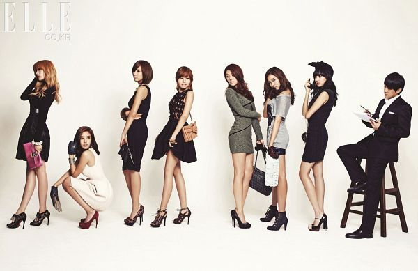 Tags: K-Pop, After School, Raina, Nana, Son Dam-bi, Uee, Kahi, Kim Jungah, Lee Jooyeon, Looking Away, Black Outfit, High Heels
