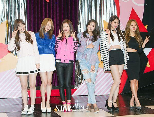 Tags: K-Pop, AOA (Ace Of Angels), EXID, Crayon Pop, Brown Eyed Girls, Nine Muses, KARA, Hani, Shin Hyejeong, Ellin, Narsha, Gyeongree