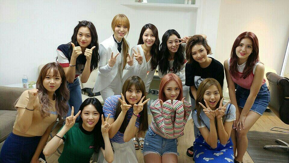 Tags: K-Pop, Mamamoo, I.O.I, Moonbyul, Choi Yoo-jung, Zhou Jieqiong, Solar, Kim So-hye, Im Nayoung, Kim Chung-ha, Hwasa, Wheein