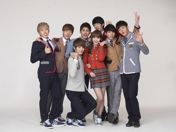 Tags: K-Pop, Infinite, Hoya, Nam Woo-hyun, IU, Kim Sung-kyu