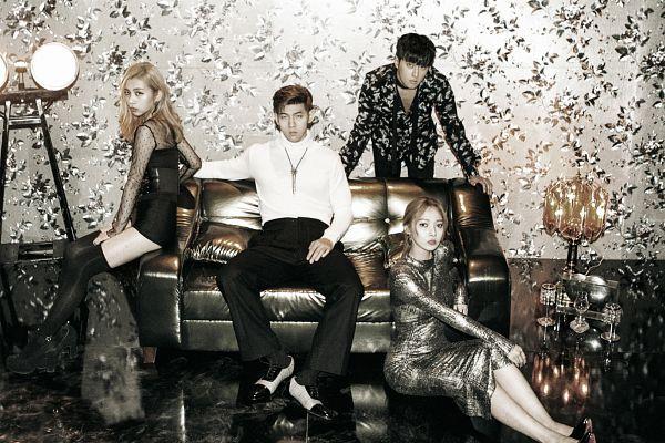 Tags: DSP Media, K-Pop, K.A.R.D, Don't Recall, J.Seph, BM, Jeon Somin, Jeon Jiwoo, Necklace, Collar (Clothes), Hair Up, Turtleneck