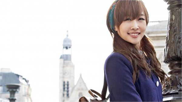 Tags: K-Pop, KARA, Nicole Jung, Twin Tails, Outdoors, Bag, Wallpaper