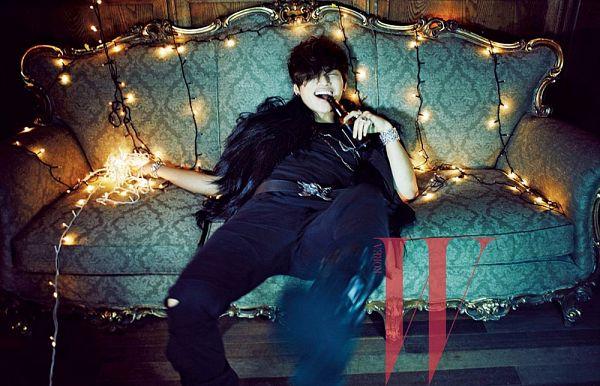 Tags: YG Entertainment, K-Pop, BIGBANG, Kang Daesung, Text: Magazine Name, W Korea