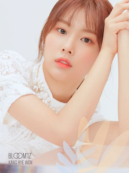 Tags: K-Pop, IZ*ONE, Kang Hyewon, White Outfit, Light Background, White Background, Serious, White Dress