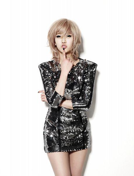 Tags: K-Pop, BESTie, Kang Hyeyeon, Finger To Lips, No Background