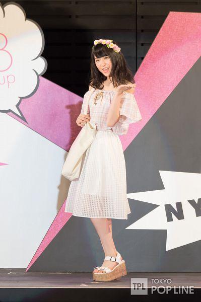 Tags: J-Pop, AKB48, Kawamoto Saya, Flower, Flower Crown, Crown, Android/iPhone Wallpaper