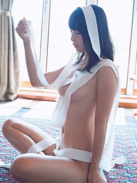 Tags: Gravure Idol, Kawasaki Aya, Midriff, Suggestive, Swimsuit
