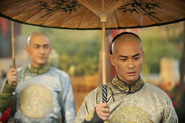 Tags: C-Drama, Kevin Cheng, Partially Bald, Chinese Clothes, Umbrella, Traditional Clothes, Scarlet Heart
