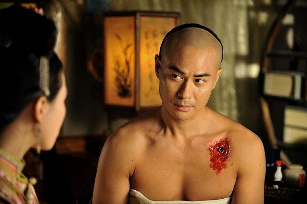 Tags: C-Drama, Kevin Cheng, Bare Shoulders, Blood, Partially Bald, Scarlet Heart