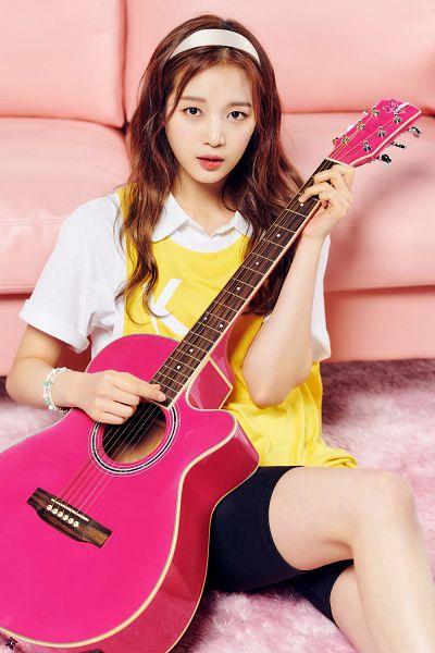 Tags: K-Pop, Kim Hyerim, Guitar, Musical Instrument, Girls Planet 999