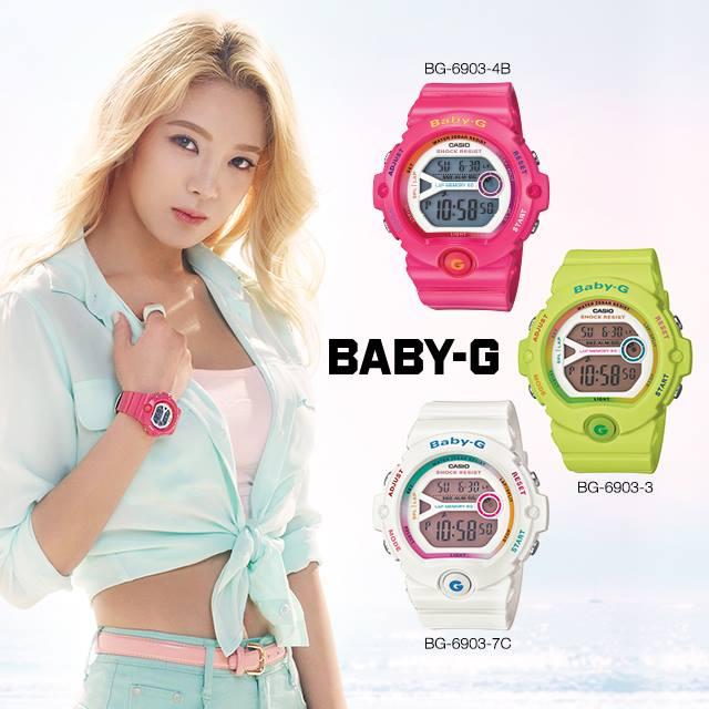 Tags: K-Pop, Girls' Generation, Kim Hyo-yeon, Midriff, Belt, Blue Shorts, Light Background, Blue Shirt, White Background, Collarbone, Watch, Shorts
