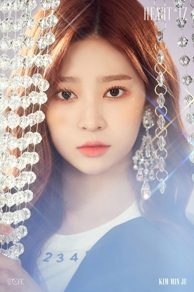 Tags: K-Pop, IZ*ONE, Kim Minju, Blush (Make Up), Text: Artist Name, Text: Album Name, Serious, Make Up, Twitter
