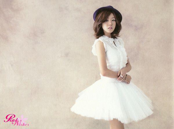 Tags: K-Pop, Apink, Kim Nam-joo, Ring, White Dress, Medium Hair, Hat, Ballet, White Outfit, Wallpaper, Snow Pink