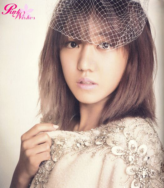 Tags: K-Pop, Apink, Kim Nam-joo, Make Up, Veil, Medium Hair, See Through Clothes, Nail Polish, Pink Blossom