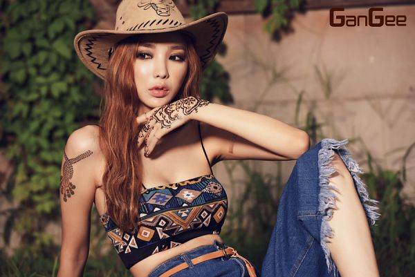 Tags: K-Pop, Nine Muses, Kim Rana, Hat, Magazine Scan, GanGee