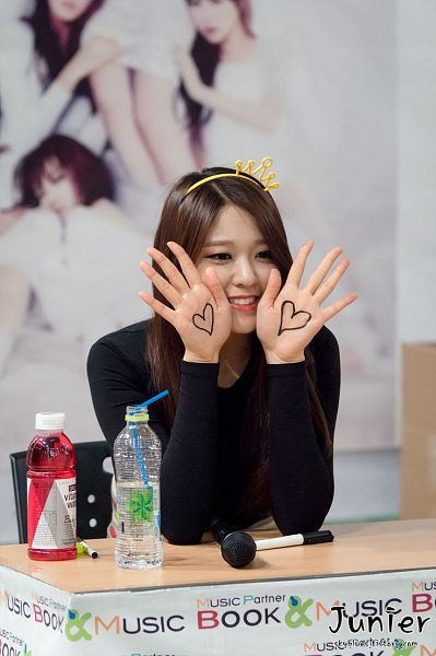 Tags: AOA (Ace Of Angels), Kim Seolhyun, Heart, Fansigning Event