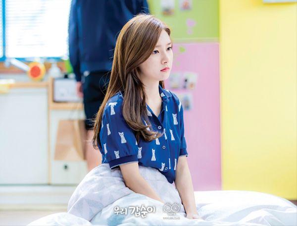 Tags: K-Drama, Kim So-eun, Serious, Nightwear, Our Gap-soon